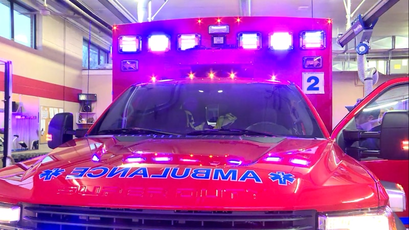 LFR sets goals for ambulance response times, but they didn't meet that goal in 2020. They said...