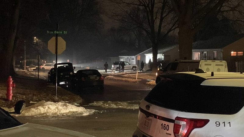 LPD, LFR, and NSP were at the scene of a seven-hour standoff outside a home near 36th and Van...