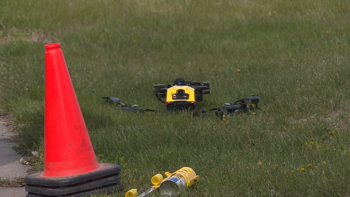 LTU uses drone for street inspection