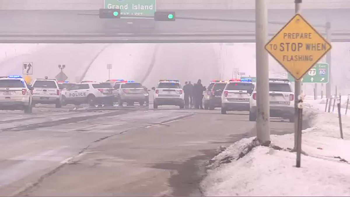 Officer involved shooting at N. 56th and I-80