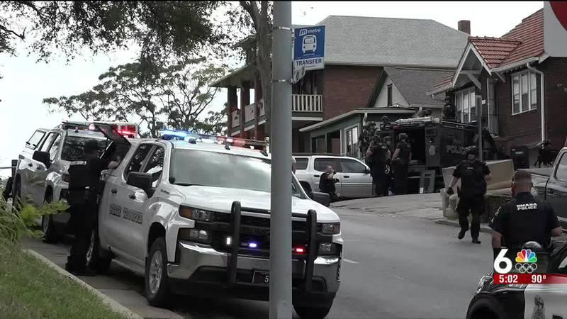 Omaha Police barricade update