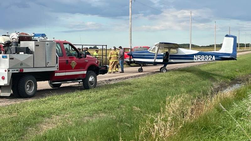 The FAA is investigating after a small plane landed on White Cloud Road just west of Highway...