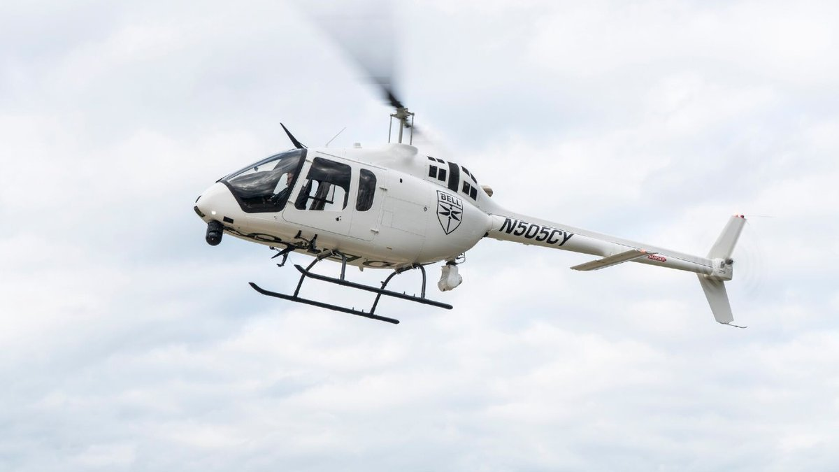 The Nebraska State Patrol purchased the Bell 505 helicopter to assist in public safety...