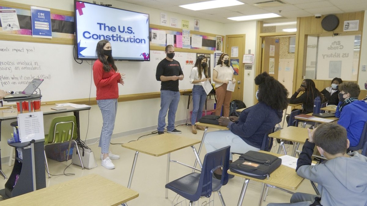 In recognition of Constitution Day on Friday, University of Nebraska College of Law students...