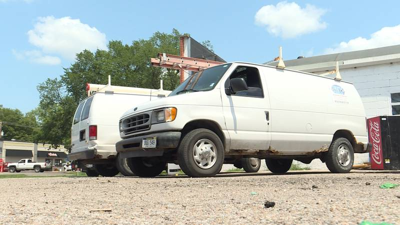Lincoln A/C company has over $20,000 stolen in equipment