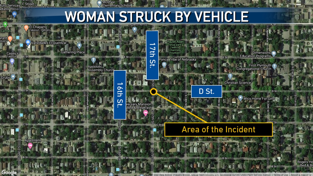 Lincoln Police are searching for the vehicle and driver that struck a woman in a hit-and-run early Sunday morning around 1:30 a.m.