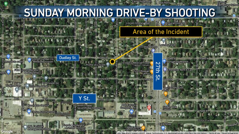 LPD investigating a drive-by shooting from Sunday morning.