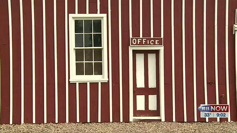 We take a closer look at the big red barn at Buffalo Bill Ranch State Historical Park.
