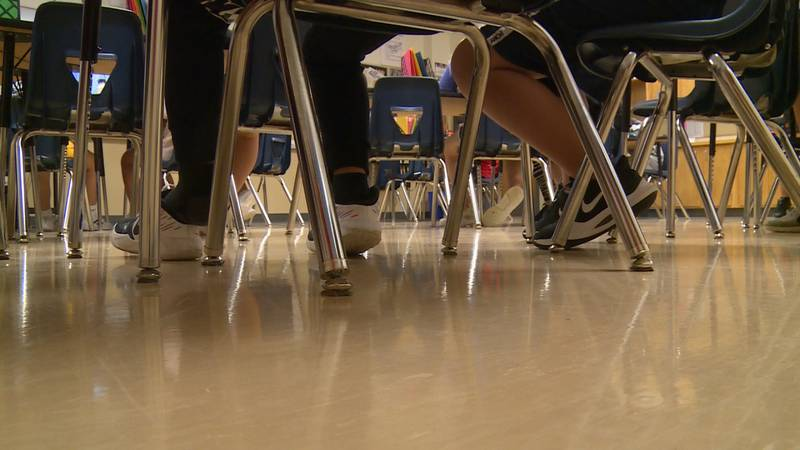 COVID-19 cases in classrooms and on campus are dropping at a faster rate than those in the...
