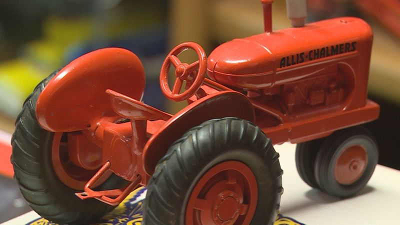During a trip to Newman Grove, we met a toy farm machinery enthusiast who has a room full of...