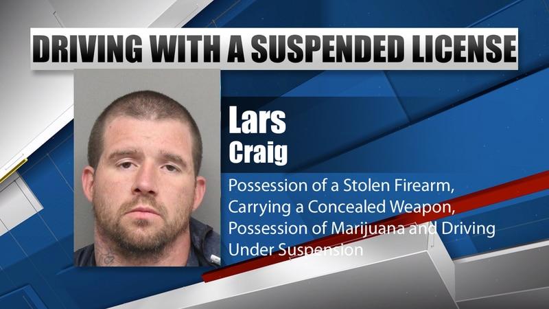 Lars A Craig mugshot