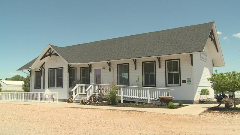 A restored 1890′s Union Pacific Railroad Depot in Paxton offers a unique shopping experience.