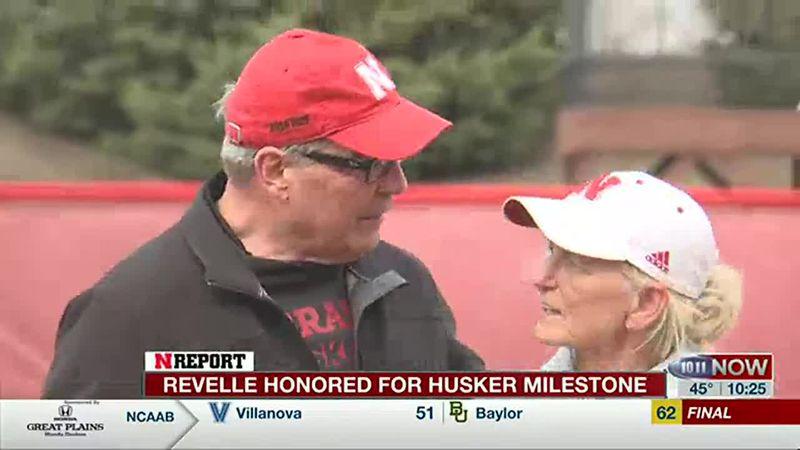 Nebraska softball coach Rhonda Revelle honored for 1,000 wins