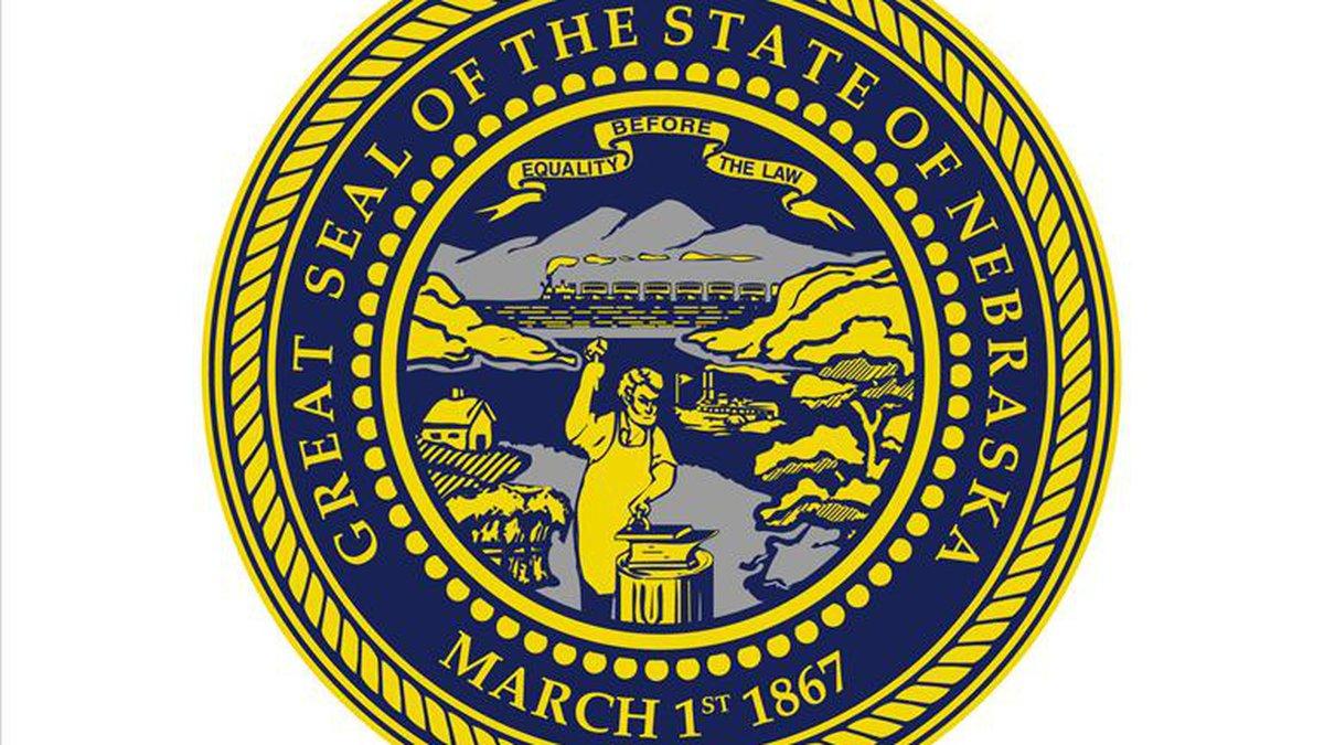 Nebraska state seal.
