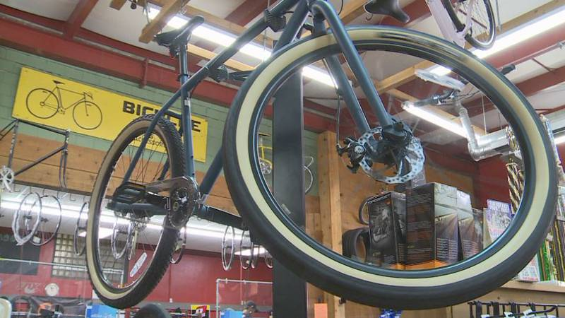 During the pandemic bikes have been some of the best selling items in Lincoln, and as demand...