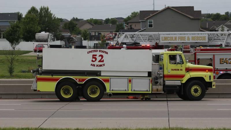 Nebraska State Patrol responds to an interstate crash
