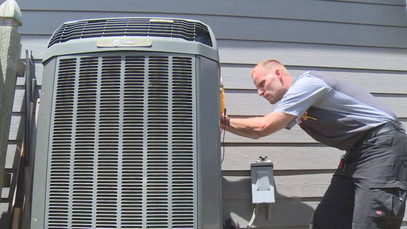 Companies like Bryant in Lincoln said homeowners could expect delays if they begin to have...
