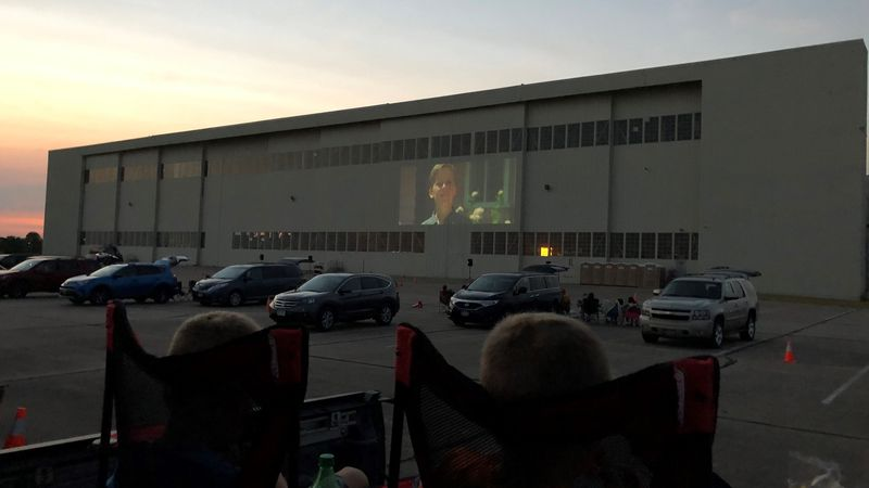 It hosted a few incredibly successful drive-in movie nights at an old airplane hanger and hopes...