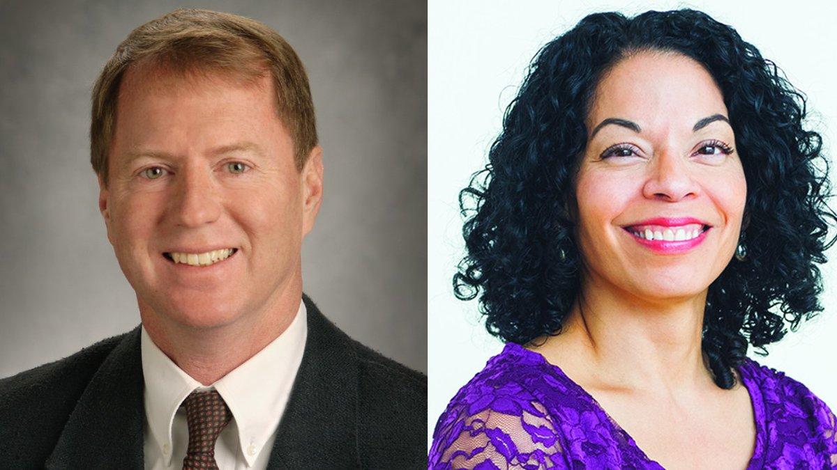 Rich Rodenburg and Dr. Maribel Cruz