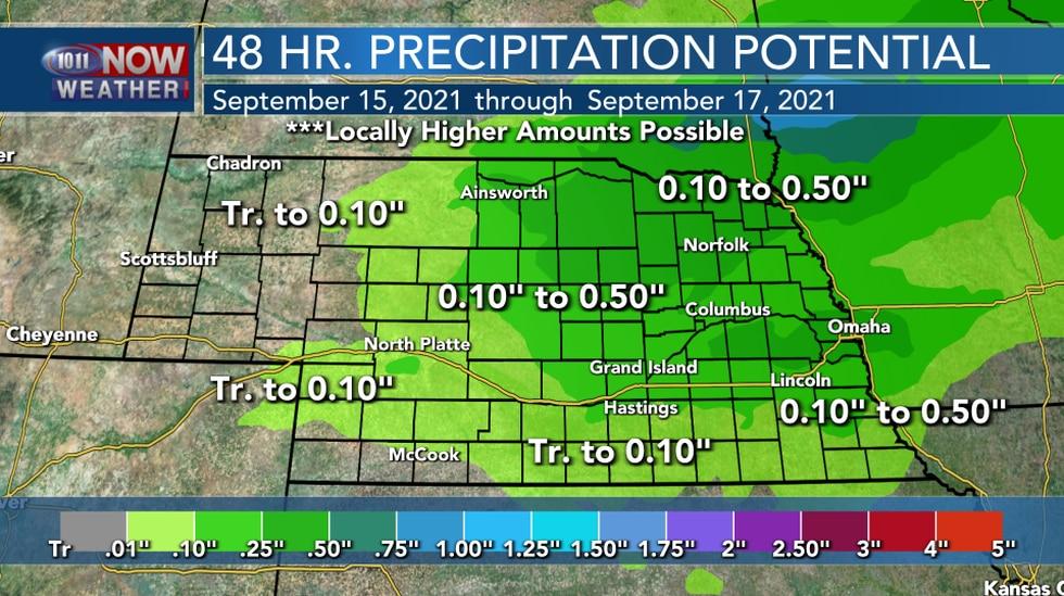 48 Hour Precipitation Potential