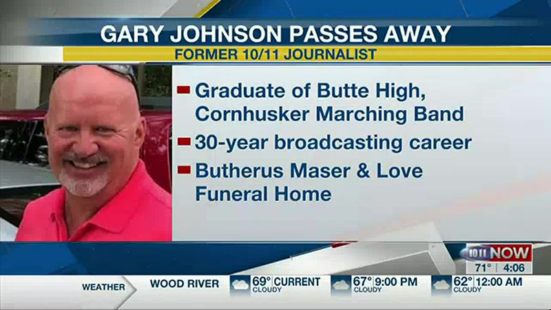 Gary Johnson passes away