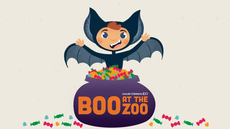 Boo at the Zoo runs October 26-30 at the Lincoln Children's Zoo.