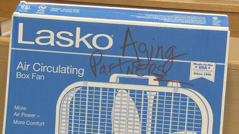 Aging Partners is accepting fan donations through Friday, June 11 in Lincoln. Electric box fans...