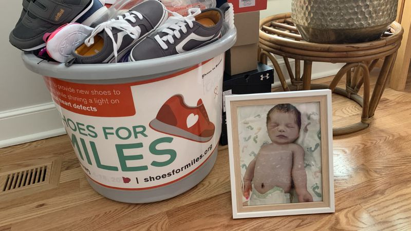 This is the 7th annual Shoes for Miles. The shoe drive draws attention to CHD's which is one of...