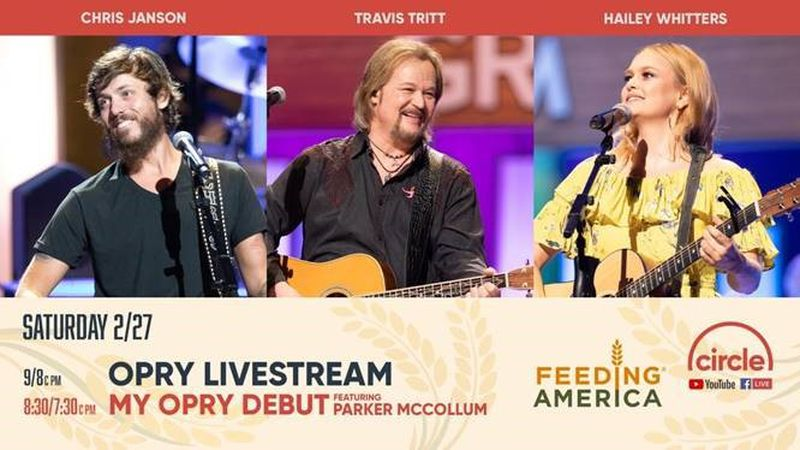 Gray Television, Grand Ole Opry and Circle TV are partnering with Feeding America for a...