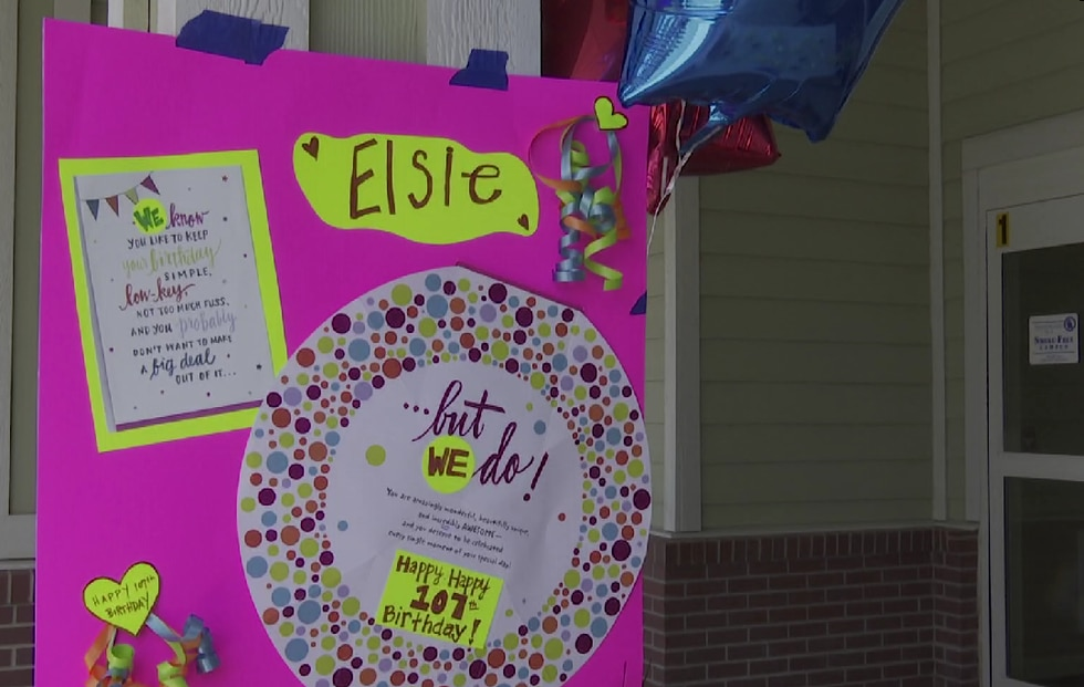 It's a day of celebration for a Seward woman celebrating her 107th birthday. Elsie Steinauer...