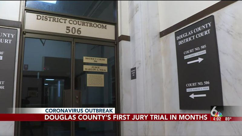 The Douglas County Courthouse is ready to resume jury trials soon.