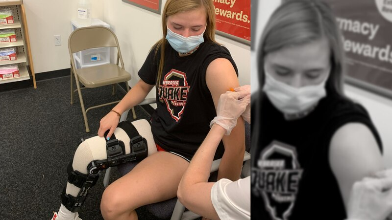 Marli Stones got her second dose of the COVID-19 vaccine Friday, a shot she wishes she would...