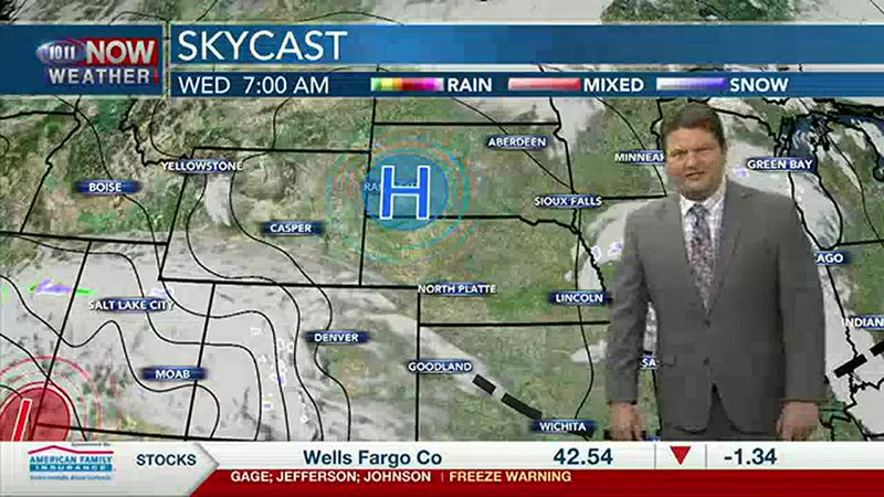 Brad's Wednesday Forecast
