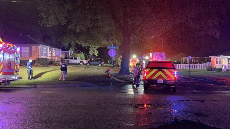 2-alarm house fire near 49th & Randolph Sts