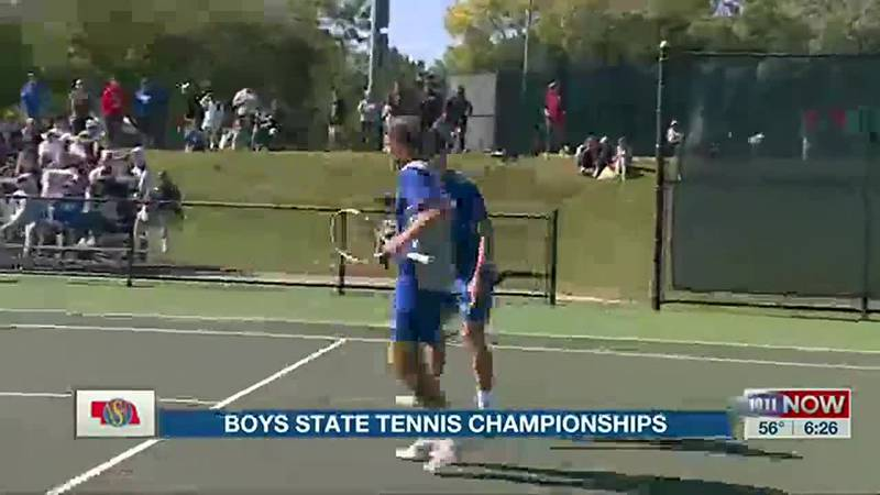 Boys State Tennis Championships (Oct. 15, 2021)