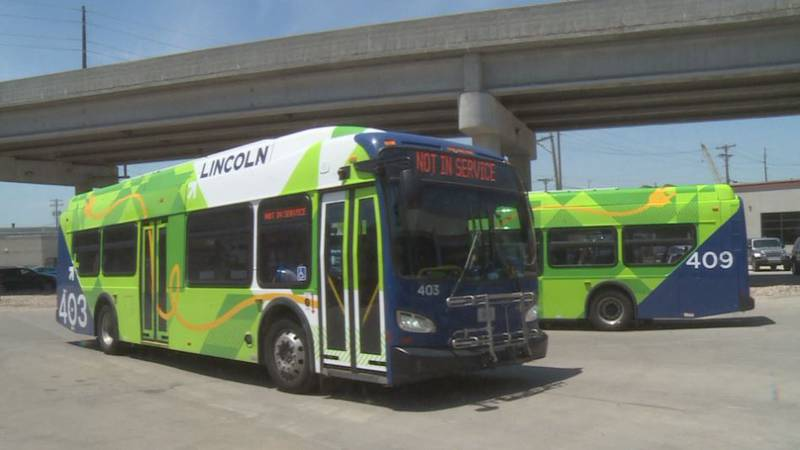 These buses give off little to no emissions, which StarTran says makes them healthier for the...