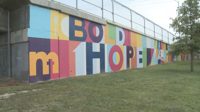 """Matt Talbot Kitchen and Outreach reveals """"Bold Hope"""" mural."""