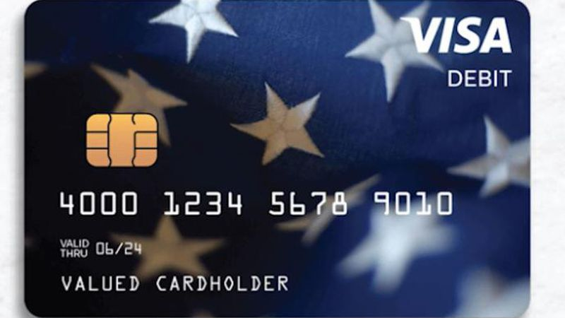 The cards are being distributed to people without bank information on file with the IRS, and...