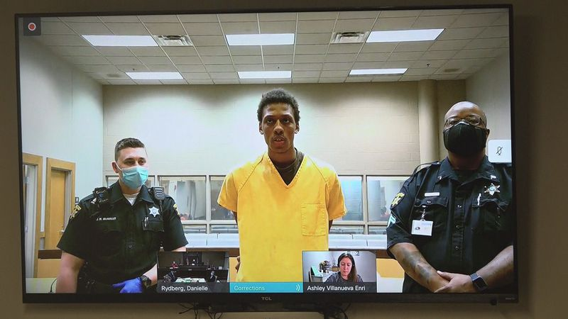 Kenya Lamont Jenkins Jr., 21, is facing several charges after police say he shot an Omaha...