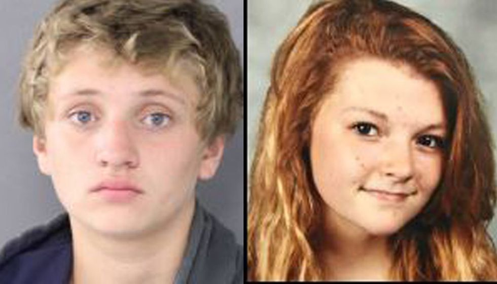 Kevin A. Huntington Jr.,16, and Alyssa M. Bel, 15, are suspects in the abduction of a...