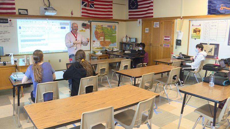 LPS teachers share historic moments of President Biden's inauguration