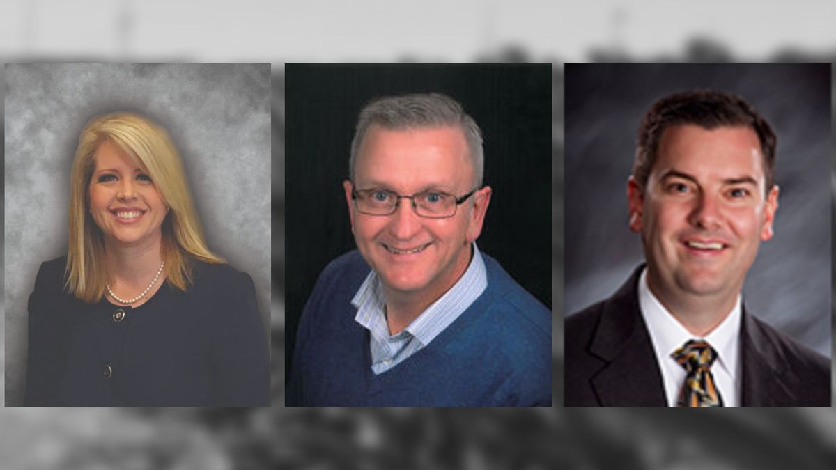 Election Commissioners Michelle Y. Andahl (Sarpy),  David Shively (Lancaster), and  Brian W....