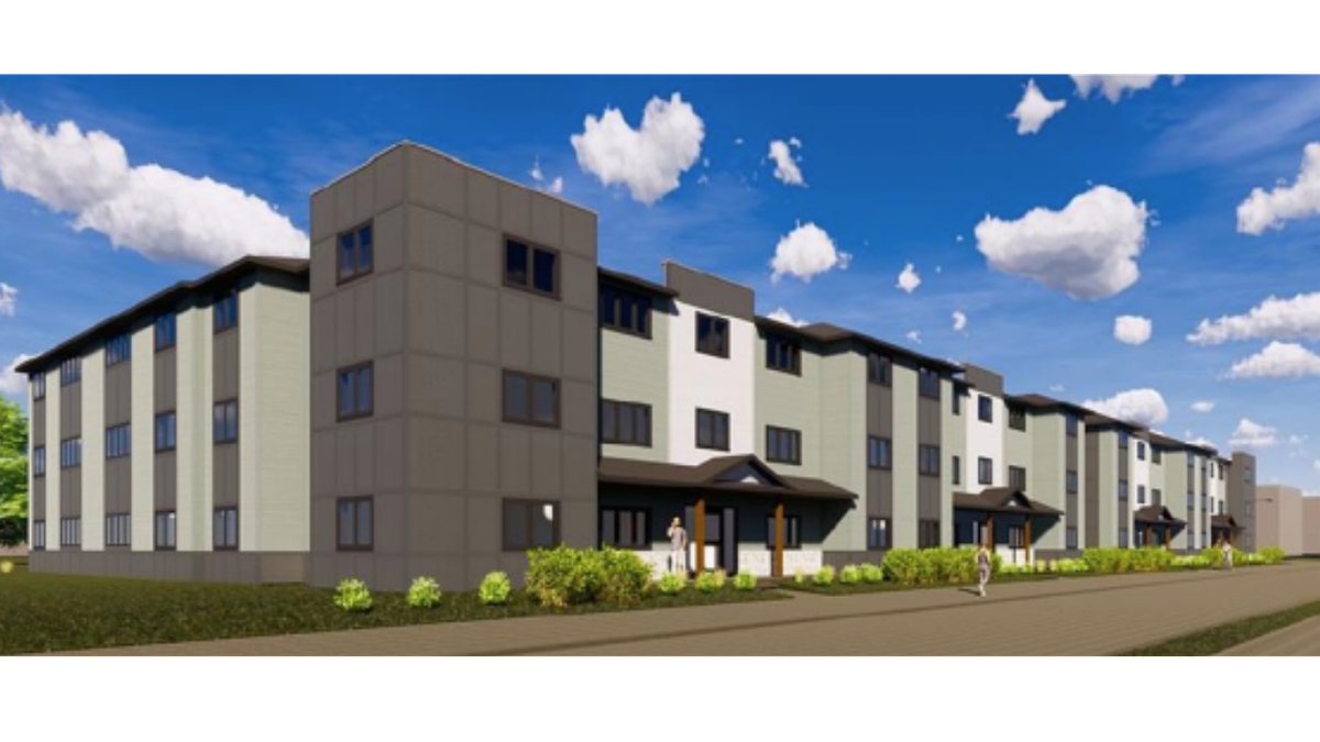 These apartment buildings could be the future for the empty lot at 25th and Vine.