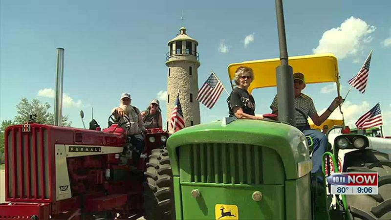 We learn about the Tractor Relay Across Nebraska from a participant from South Dakota.