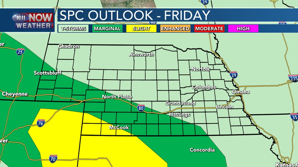 Strong to severe storms will be possible across parts of western, southwestern, and into south...