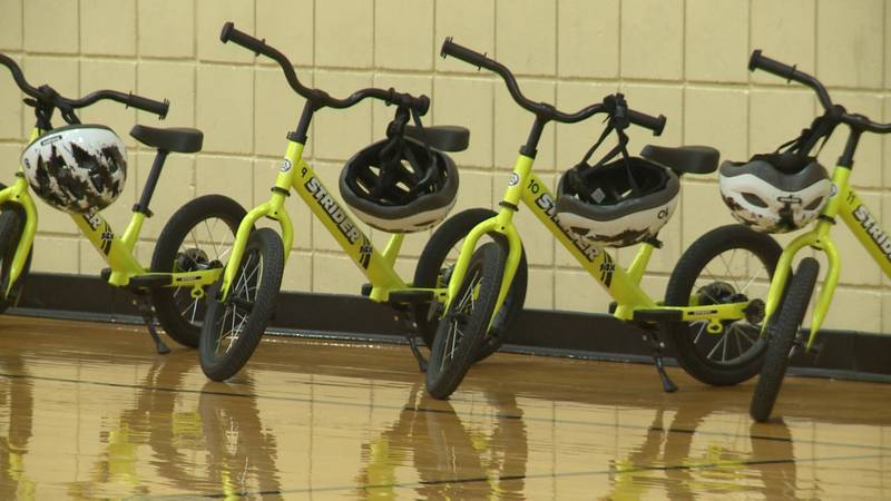 Physical education class just got a little more exciting for some Lincoln Public School...