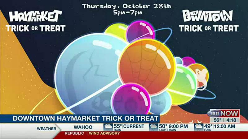Downtown Haymarket Trick or Treat