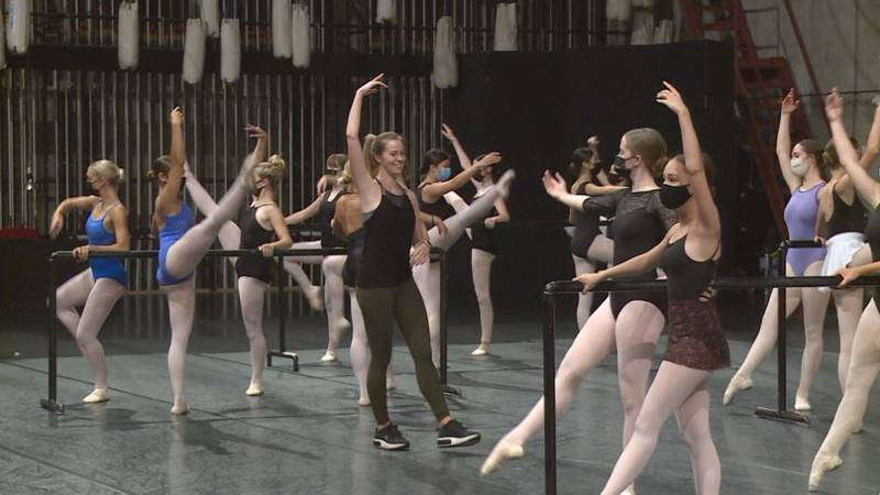 For many of the student dancers selected to take this class with a trained professional, they...