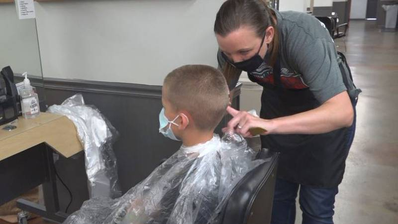 On Sunday, Visionary Youth in partnership with the Malone Center, will offer free haircuts at...