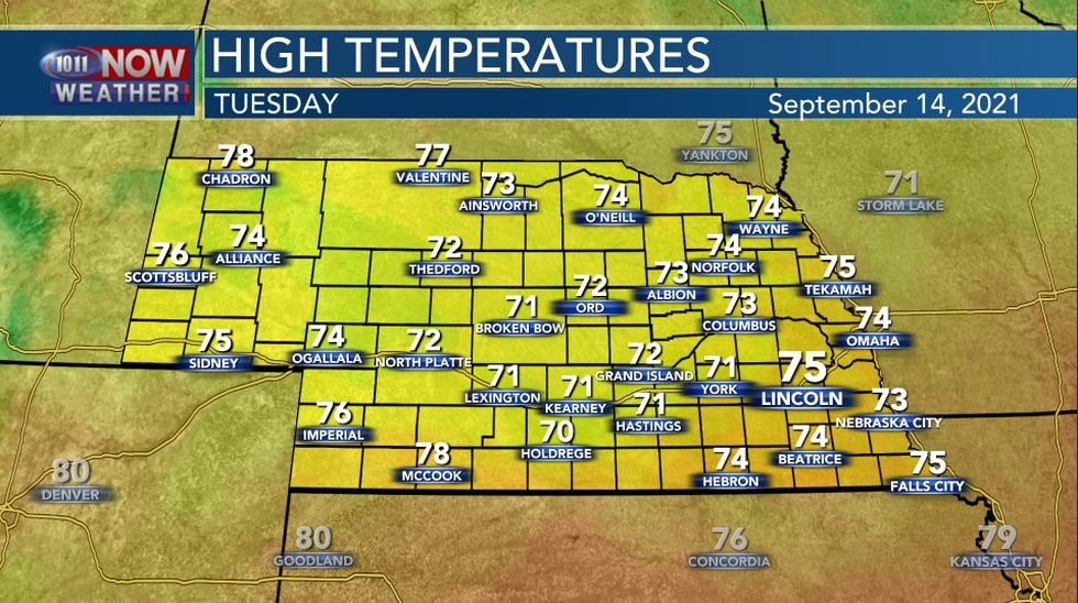 Tuesday Highs